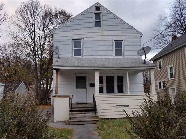 734 W Newell Street, Syracuse, NY 13207 (MLS #S1241732) :: Robert PiazzaPalotto Sold Team