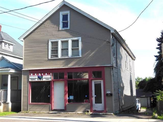 1442 Burnet Avenue, Syracuse, NY 13206 (MLS #S1243600) :: Robert PiazzaPalotto Sold Team