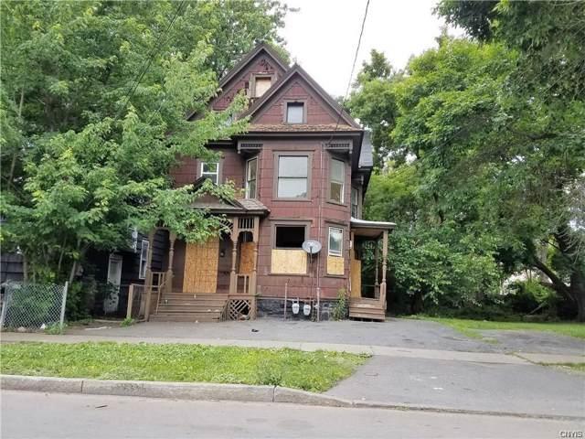 418 Merriman Avenue, Syracuse, NY 13204 (MLS #S1244489) :: Robert PiazzaPalotto Sold Team
