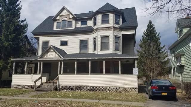 240 Kirk Avenue #44, Syracuse, NY 13205 (MLS #S1266708) :: 716 Realty Group