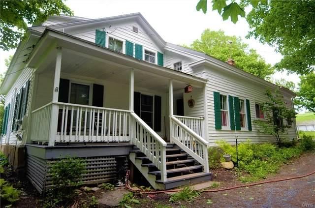 3826 Davis Corners Road, Eaton, NY 13408 (MLS #S1268151) :: Robert PiazzaPalotto Sold Team