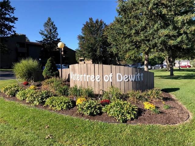 246 Watertree Drive, Dewitt, NY 13057 (MLS #S1295449) :: Robert PiazzaPalotto Sold Team