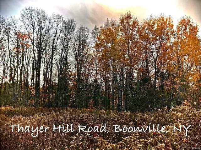 0 Thayer Hill Road, Leyden, NY 13309 (MLS #S1302255) :: MyTown Realty