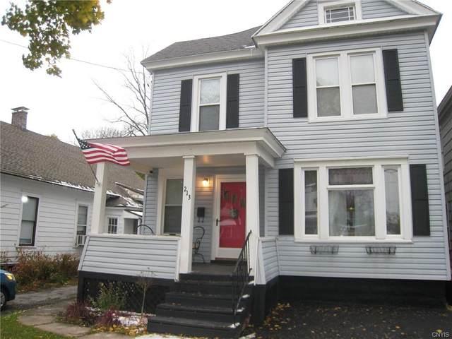 213 Sedgwick Street, Syracuse, NY 13203 (MLS #S1305452) :: BridgeView Real Estate Services