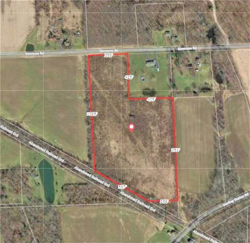 00 Simmons Road, Sterling, NY 13156 (MLS #S1319277) :: MyTown Realty