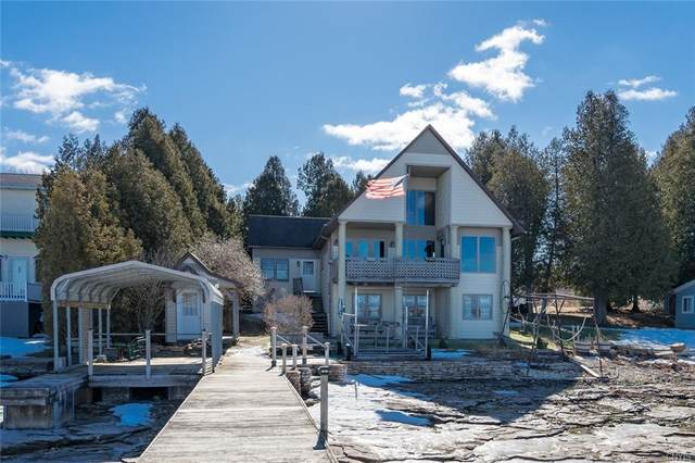 18 Country Club Shore W, Oswegatchie, NY 13669 (MLS #S1324822) :: Thousand Islands Realty