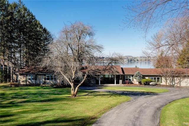 3143 E Lake Road, Skaneateles, NY 13152 (MLS #S1328030) :: MyTown Realty