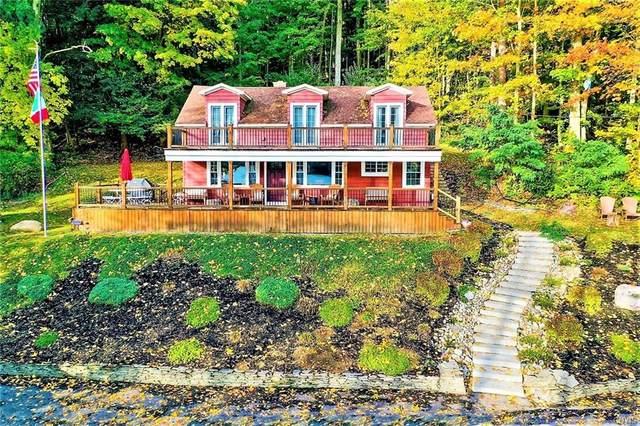 7032 N Glen Haven Road, Sempronius, NY 13118 (MLS #S1333233) :: BridgeView Real Estate Services