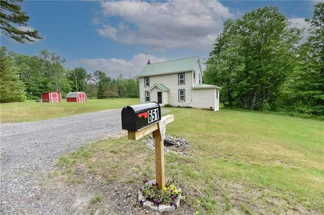 651 Ohio City Road, Ohio, NY 13324 (MLS #S1343244) :: Serota Real Estate LLC
