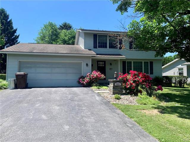 5831 Coventry Road S, Manlius, NY 13057 (MLS #S1345581) :: Robert PiazzaPalotto Sold Team