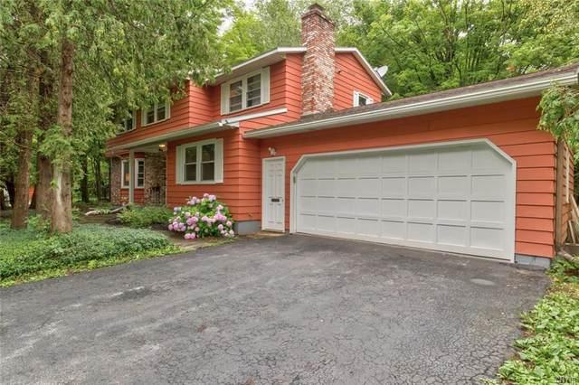 112 Cedar Heights Drive, Dewitt, NY 13078 (MLS #S1352999) :: Robert PiazzaPalotto Sold Team