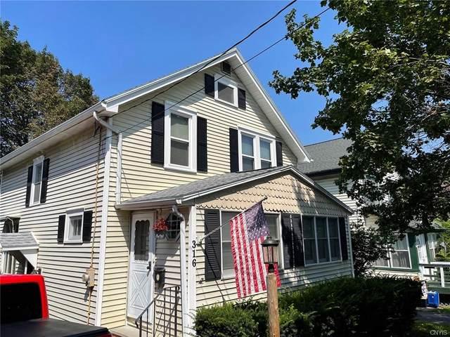 316 Nichols Avenue, Syracuse, NY 13206 (MLS #S1354840) :: Robert PiazzaPalotto Sold Team