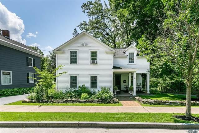 8 William Street, Cazenovia, NY 13035 (MLS #S1355231) :: BridgeView Real Estate Services