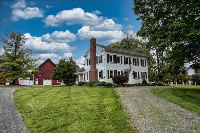 6030 E Lake Road, Owasco, NY 13021 (MLS #S1355630) :: BridgeView Real Estate