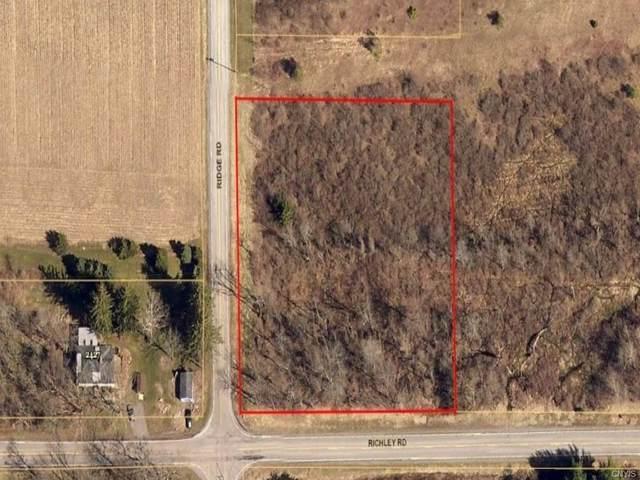 9501 Ridge Road, Darien, NY 14040 (MLS #S1363359) :: BridgeView Real Estate