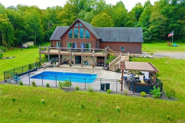 4376 Long Hill Road, Moravia, NY 13118 (MLS #S1364625) :: BridgeView Real Estate