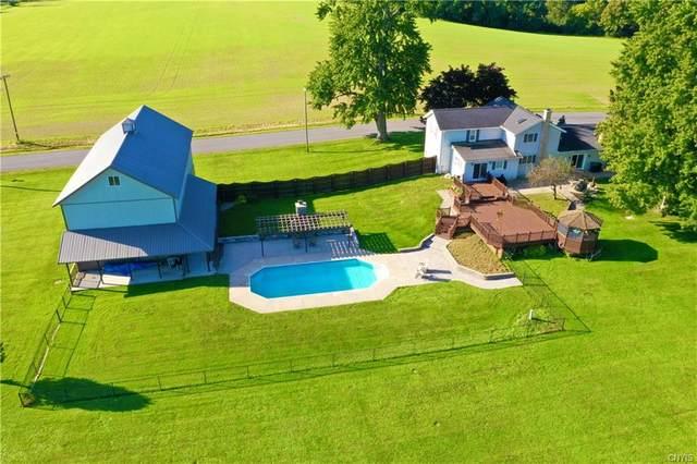 1049 Chamberlain Road, Aurelius, NY 13021 (MLS #S1364634) :: BridgeView Real Estate