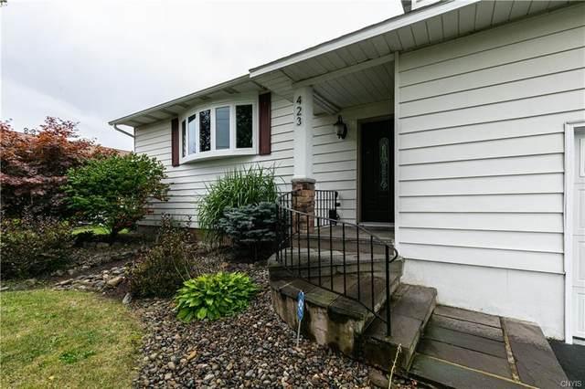423 Ontario Avenue, Geddes, NY 13209 (MLS #S1365386) :: BridgeView Real Estate