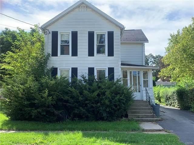 23 Sherwood Street, Auburn, NY 13021 (MLS #S1365769) :: Robert PiazzaPalotto Sold Team