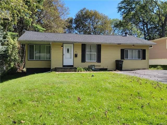 513 Audubon Parkway, Syracuse, NY 13224 (MLS #S1366995) :: BridgeView Real Estate
