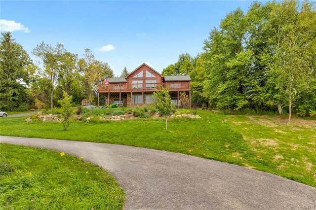 1344 State Route 80, Otisco, NY 13159 (MLS #S1367600) :: BridgeView Real Estate