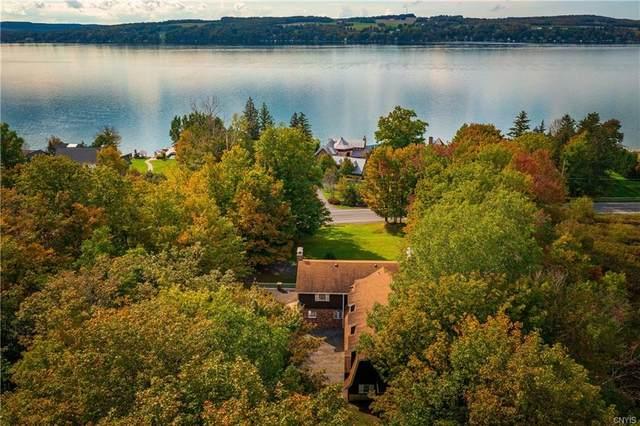 2458 E Lake Road, Spafford, NY 13152 (MLS #S1371675) :: Serota Real Estate LLC