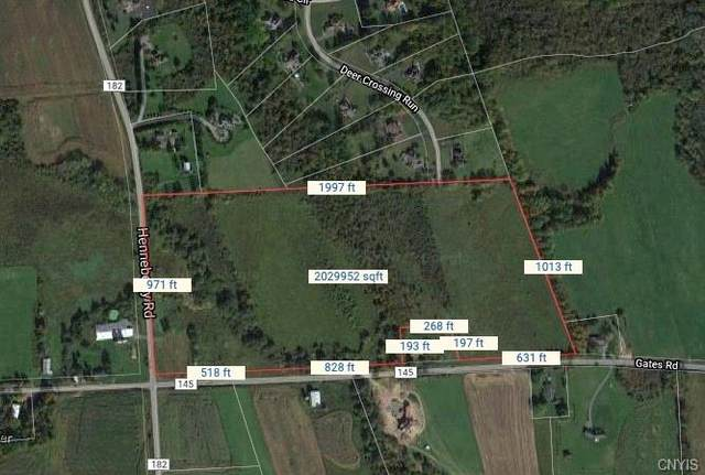 7635 Gates Road, Pompey, NY 13104 (MLS #S1373469) :: BridgeView Real Estate