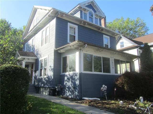 218 Kensington Road, Syracuse, NY 13210 (MLS #S1374232) :: BridgeView Real Estate