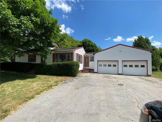 6049 Ellicott Street Road, Bethany, NY 14054 (MLS #B1255518) :: Robert PiazzaPalotto Sold Team