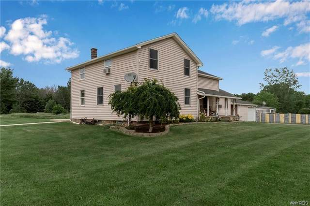 6233 Drake Settlement Road, Newfane, NY 14108 (MLS #B1346437) :: Robert PiazzaPalotto Sold Team