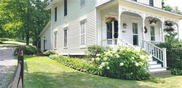 867 S Lake Road, Middlesex, NY 14507 (MLS #R1123420) :: The Chip Hodgkins Team