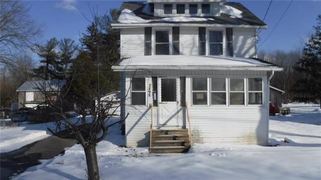 2498 Canandaigua Road, Macedon, NY 14502 (MLS #R1170129) :: BridgeView Real Estate Services
