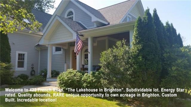 423 French Road, Brighton, NY 14618 (MLS #R1170375) :: Robert PiazzaPalotto Sold Team