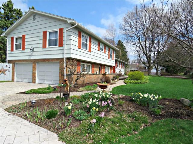 4 Hilltop Drive, Pittsford, NY 14534 (MLS #R1182636) :: Robert PiazzaPalotto Sold Team