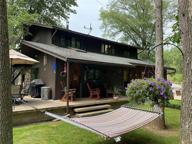 8116 Oatka Trail, Leroy, NY 14482 (MLS #R1350555) :: Robert PiazzaPalotto Sold Team
