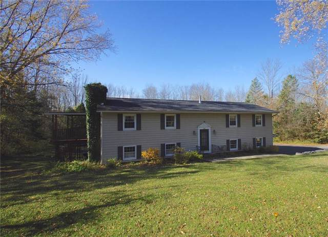 3867 Slate Hill Road, Marcellus, NY 13108 (MLS #R1222127) :: The Chip Hodgkins Team