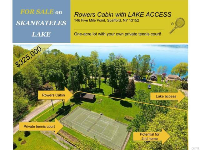 146 Five Mile, Spafford, NY 13152 (MLS #S1146801) :: Thousand Islands Realty