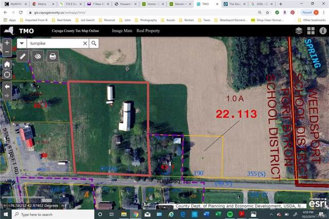 2333 Turnpike Road, Throop, NY 13021 (MLS #S1216990) :: Thousand Islands Realty