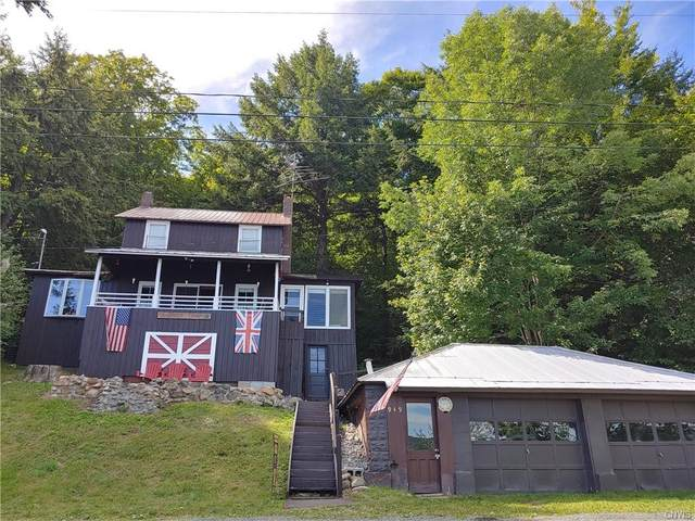 949 Old Piseco Road, Arietta, NY 12139 (MLS #S1244743) :: Robert PiazzaPalotto Sold Team