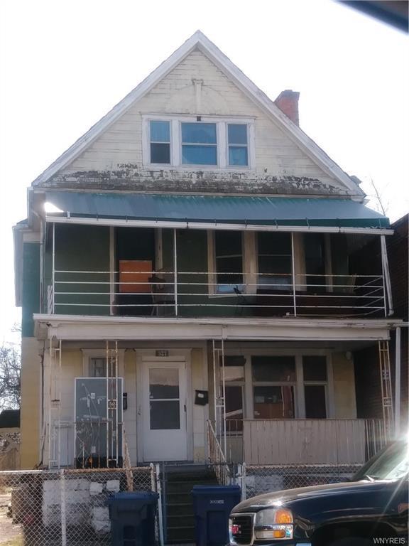 327 E Delavan Avenue, Buffalo, NY 14208 (MLS #B1101030) :: The Rich McCarron Team