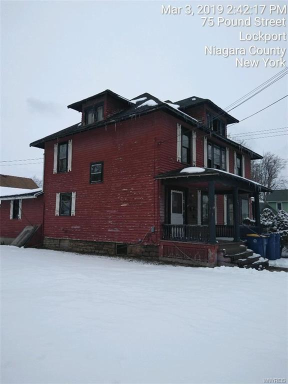 75 Pound Street, Lockport-City, NY 14094 (MLS #B1180848) :: The CJ Lore Team   RE/MAX Hometown Choice
