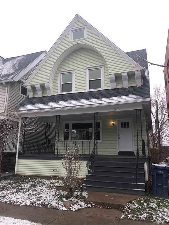 504 Bird Avenue, Buffalo, NY 14222 (MLS #B1241124) :: Robert PiazzaPalotto Sold Team