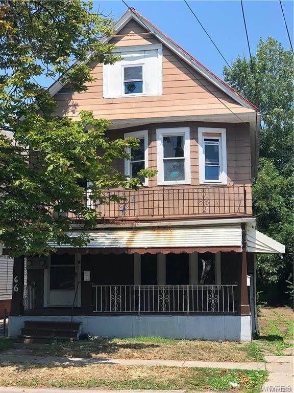 66 Gladstone Street, Buffalo, NY 14207 (MLS #B1286467) :: Robert PiazzaPalotto Sold Team