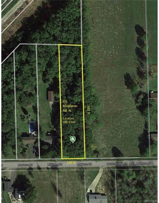 V/L Mapleton Road N, Pendleton, NY 14094 (MLS #B1305382) :: BridgeView Real Estate Services