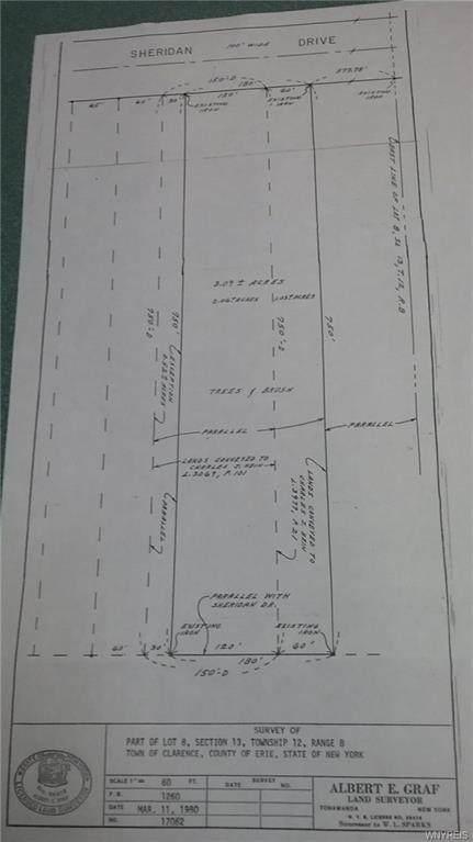 VL Sheridan Drive S, Clarence, NY 14221 (MLS #B1355820) :: Avant Realty