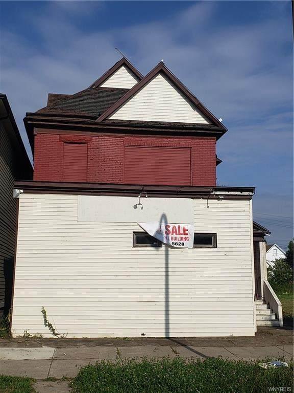 587 Fillmore Avenue, Buffalo, NY 14212 (MLS #B1363218) :: Robert PiazzaPalotto Sold Team