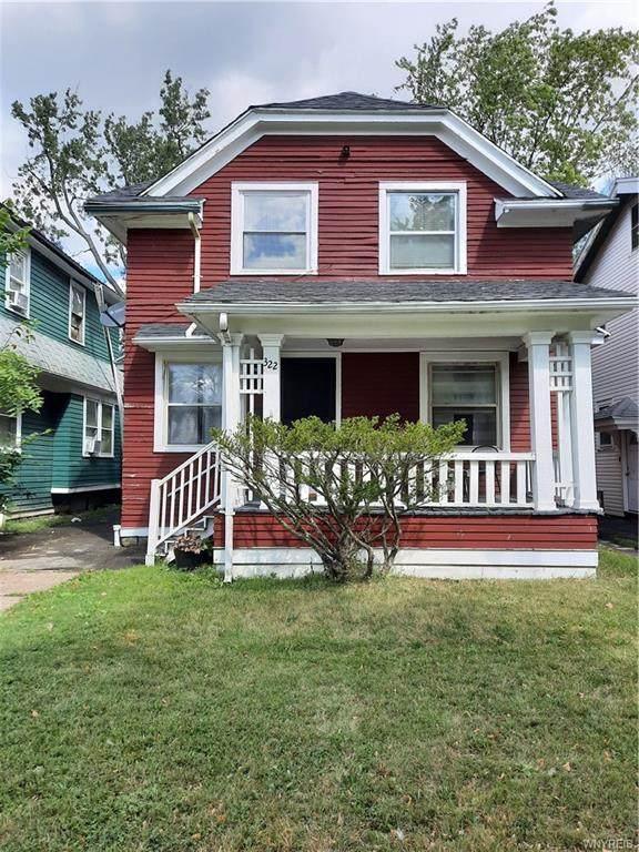 322 Lisbon Avenue, Buffalo, NY 14215 (MLS #B1365362) :: BridgeView Real Estate