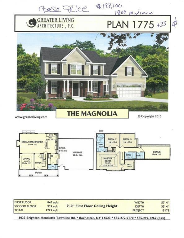 Lot 609 Fallwood Terrace, Parma, NY 14468 (MLS #R1082227) :: Robert PiazzaPalotto Sold Team