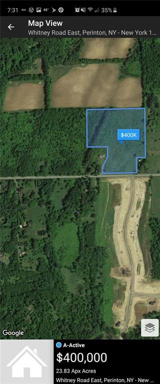 0 Whitney Road East, Perinton, NY 14450 (MLS #R1179288) :: Updegraff Group