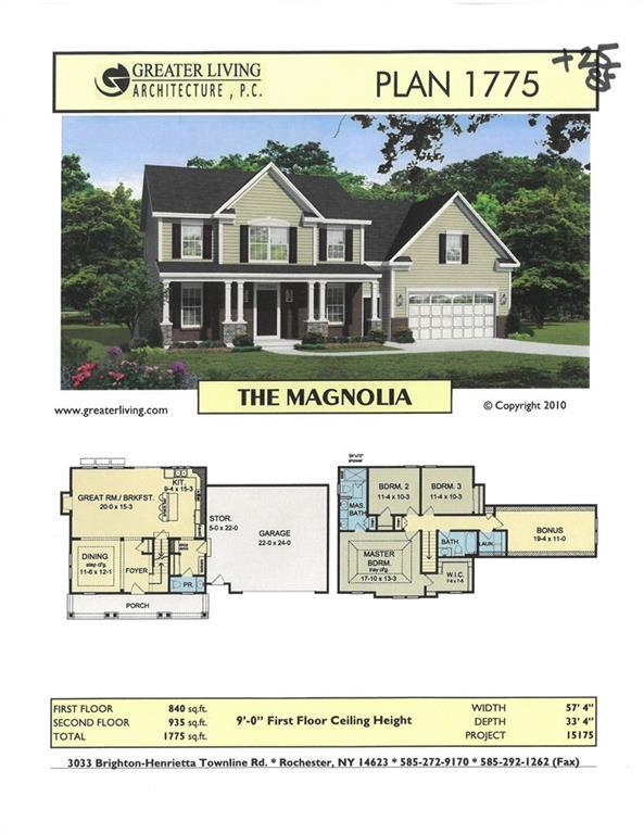 LOT #701 Fallwood Terrace, Parma, NY 14468 (MLS #R1184842) :: Robert PiazzaPalotto Sold Team